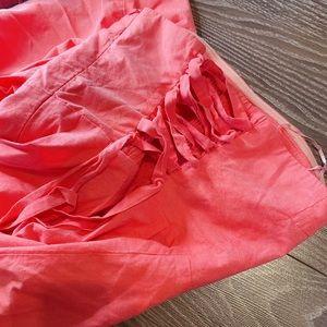 Dresses & Skirts - Pink smock dress size M